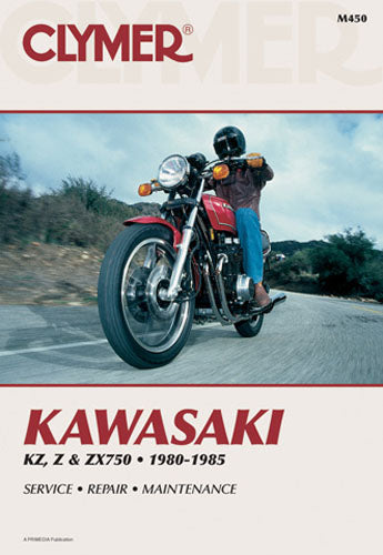 CLYMER 1984-1985 Kawasaki ZX750E Turbo GPz750 REPAIR MANUAL M450