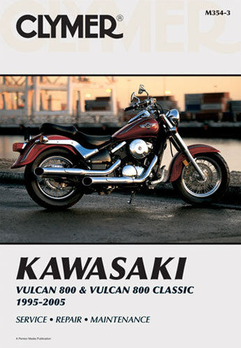 CLYMER 1995-2002 Kawasaki VN800A Vulcan 800 REPAIR MANUAL M354-3