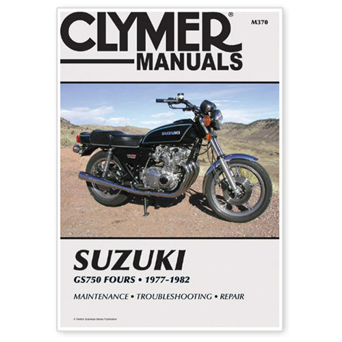 CLYMER 1978-1982 Suzuki GS750E REPAIR MANUAL M370