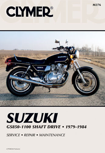 CLYMER 1980-1981 Suzuki GS1000G REPAIR MANUAL M376