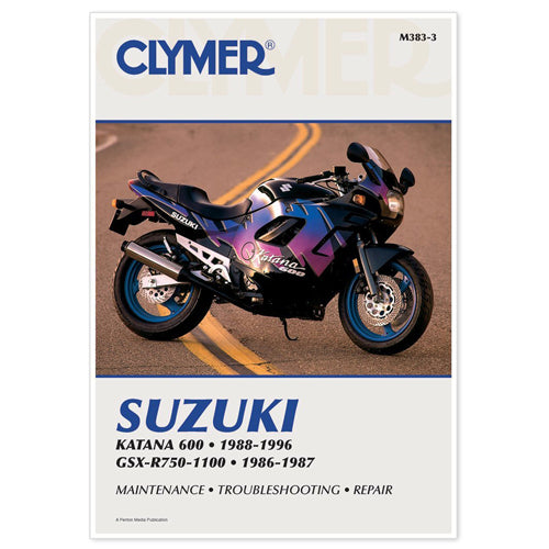 CLYMER REPAIR MANUAL PART#  M383-3