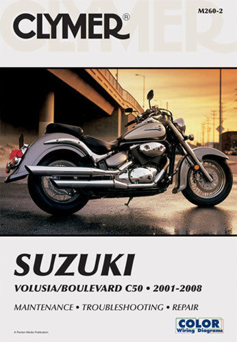 CLYMER 2001-2004 Suzuki VL800 Intruder Volusia REPAIR MANUAL M260-3