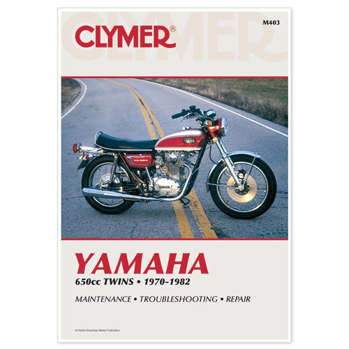 CLYMER 1973-1974 Yamaha TX650 REPAIR MANUAL M403