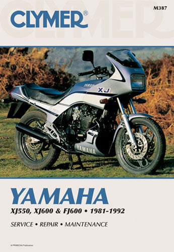 CLYMER 1984 Yamaha FJ600 REPAIR MANUAL M387