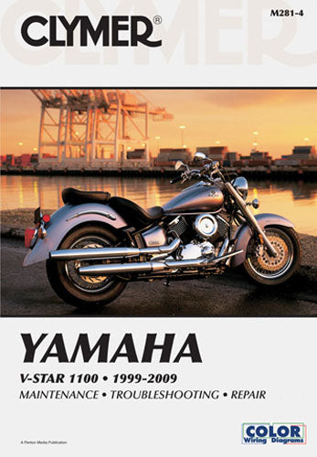 CLYMER 2000-2009 Yamaha XVS1100A V Star 1100 Classic REPAIR MANUAL M281-4