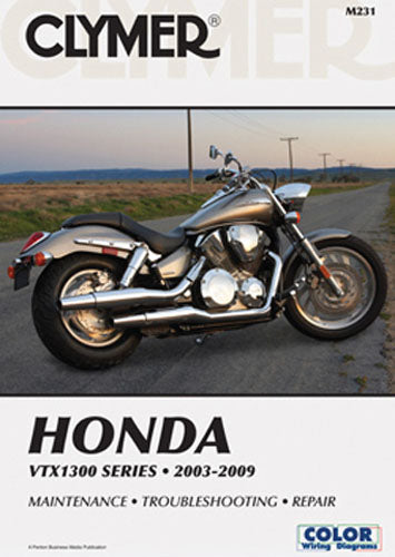 CLYMER 2008-2009 Honda VTX1300T Tourer REPAIR MANUAL M231