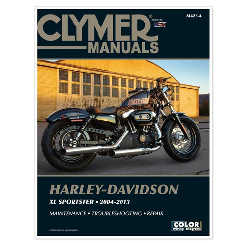 CLYMER 2008-2009 Harley-Davidson XL1200N Nightster REPAIR MANUAL M427-4
