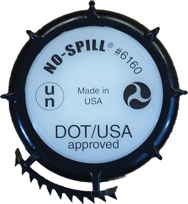 NO-SPILL DOT/UN APPROVED CAP PART# 6160