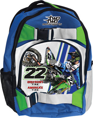 SMOOTH CHAD REED/KAWASAKI BACKPACK 16 X12 X5 PART# 3119-402 NEW