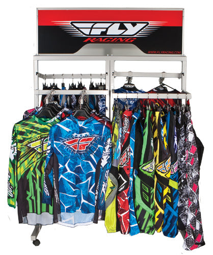 FLY RACING APPAREL DISPLAY SIGN PART# FLY APPAREL SIGN NEW