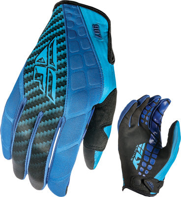 FLY RACING 907 NEOPRENE GLOVES BLUE/BLACK SZ 10 PART# 369-64110