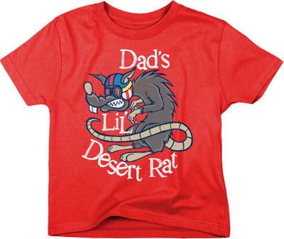 SMOOTH DAD'S LIL DESERT RAT TEE 3T 4251-201