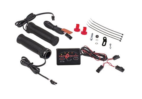 SYMTEC 215047 DUAL ZONE CONTROLLER KIT HEATED CLAMP-ON STYLE GRIPS