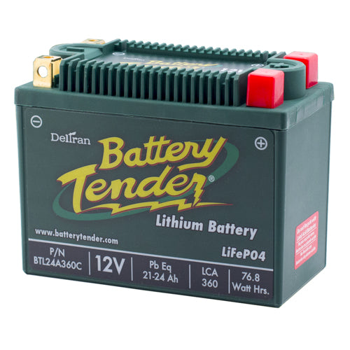 BATTERY TENDER 2004 Quest 650 4x4 Max LITHIUM ENGINE START BATTERY 360 CCA BTL24
