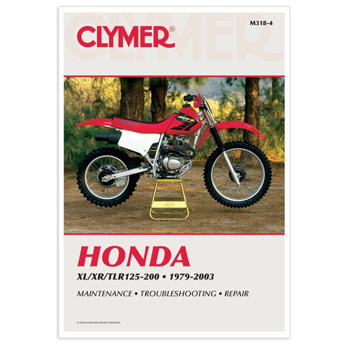 CLYMER 1986-1987 HONDA TLR200 Reflex REPAIR MANUAL M318-4