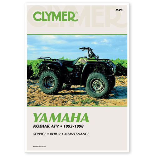 CLYMER REPAIR MANUAL PART#  M493