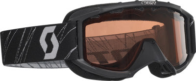 SCOTT 89 SI SNOCROSS YOUTH GOGGLE BLACK W/ACS ROSE LENS #217801-0001108