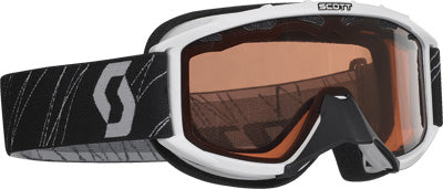 SCOTT 89 SI SNOCROSS YOUTH GOGGLE WHITE W/ACS ROSE LENS PART# 217801-0002108