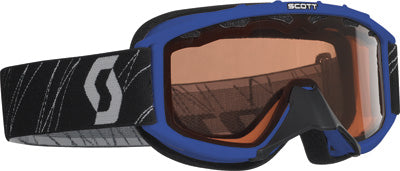 SCOTT 89 SI SNOCROSS YOUTH GOGGLE BLUE W/ACS ROSE LENS PART# 217801-0003108