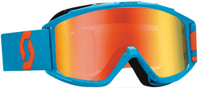 SCOTT 89SI PRO YOUTH GOGGLE ELECTRIC BLUE W/ORANGE LENS PART# 219810-1976280