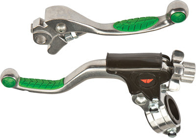 FLY RACING EASY PULL PRO KIT SHORTY (GREEN) PART NUMBER 5W1131