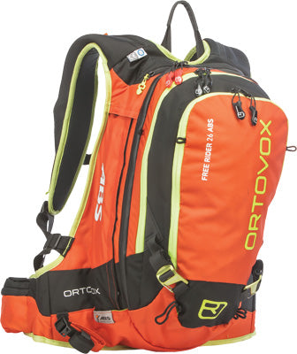 ORTOVOX FREERIDER 26 ABS COMPLETE SET S/M CRAZY ORANGE #46744 00103