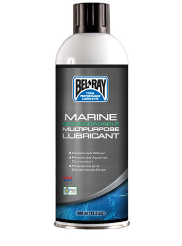 BEL-RAY MARINE BIO. MULTIPURPOSE LUB 400 ML AEROSOL - MULTILINGUAL 99704-A400W
