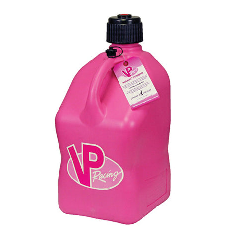 VP RACING FUELS 3812 SQUARE PINK MOTORSPORTS CONTAINER