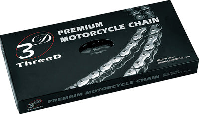 EK 1970-1971 YAMAHA RT1MX 3D GP CHAIN 520X120 (CHROME/NICKEL) 520GP/3D/C-120