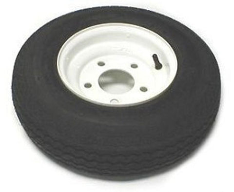 AMERICAN TIRE 570 X 8 (B) TIRE AND WHEEL IMPORTED 5 HOLE PAINTED 30100