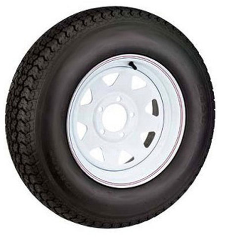 AMERICAN TIRE 480 X 12 (B) TIRE AND WHEEL IMPORTED 5 HOLE PAINTED 30580