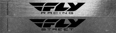 FLY RACING 12PC HELMET DISPLAY SIGNS - DBL SIDED RACING/STREET 4/PK FLY DOUBLE S