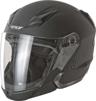FLY RACING TOURIST HELMET FLAT BLACK 2X-LARGE PART# F73-8101~6