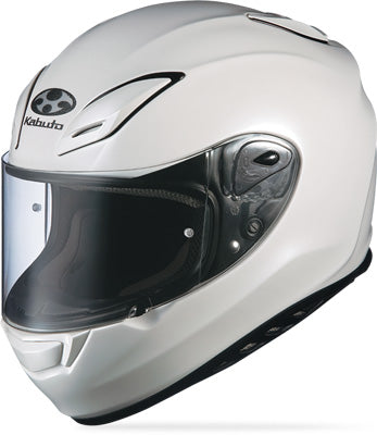 KABUTO AEROBLADE III SOLID HELMET PEARL WHITE X-SMALL PART# 7683021