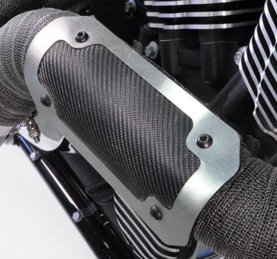 "DEI GEN 3 ONYX HEAT SHIELD BRUSHED/BLACK 4""X8"" 902459"