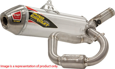 PRO CIRCUIT T-5 STAINLESS EXHAUST SYSTEM PART# 0131245G NEW