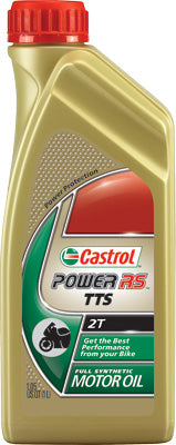 CASTROL POWER RS TTS 2T SYNTHETIC OIL 1 LARGE 12899