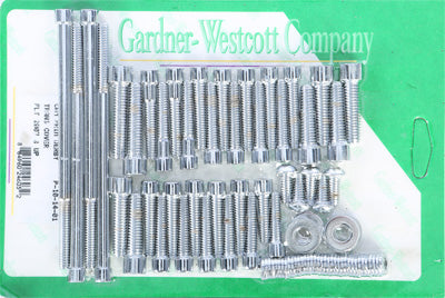 GARDNERWESTCOTT BIG TWIN CAM AND PRIMARY COVER SET (POLISHED) PART# P-10-14-01 N