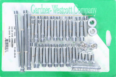 GARDNERWESTCOTT BIG TWIN CAM AND PRIMARY COVER SET (POLISHED) PART# P-10-15-01 N