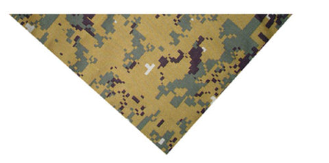 ZANheadgear BV010 3-IN-1 HEADBAND SYSTEM 100% COTTON GREEN DIGITAL CAMO VEL