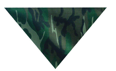 ZANheadgear BV011 3-IN-1 HEADBAND SYSTEM 100% COTTON WOODLAND CAMOUFLAGE VE