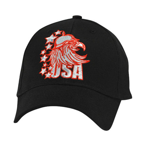 BALBOA BALL CAP RED USA EAGLE CPA143