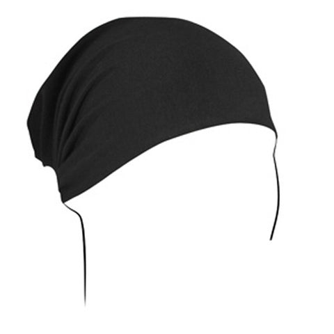 BALBOA HEADWRAP BAMBOO/COTTON BLACK HBB114