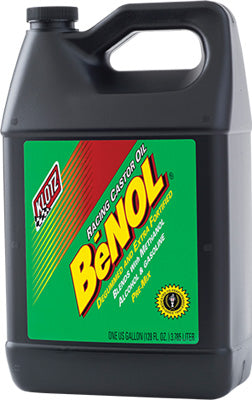KLOTZ Benol Racing Castor Oil 1Gal PART NUMBER BC-171