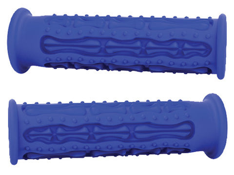 MOTOGRIP BL-ATV-FG MOTO-GRIP SKELETON FINGERZ GRIPS- SNOW PWC BLUE