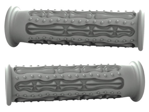 MOTOGRIP GR-ONE-FG MOTO-GRIP SKELETON FINGERZ GRIPS-HARLEY GRAY