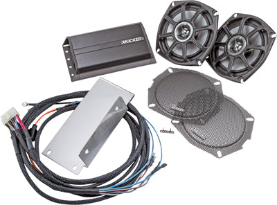 KICKER Victory Front Speaker And Amp Kit PART NUMBER FVICXC10