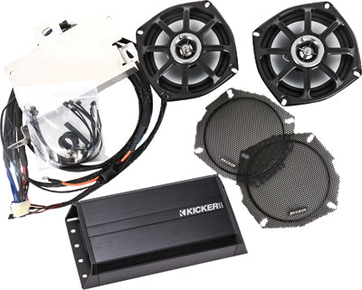 KICKER Victory Rear Speaker And Amp Kit PART NUMBER RVICXCT10