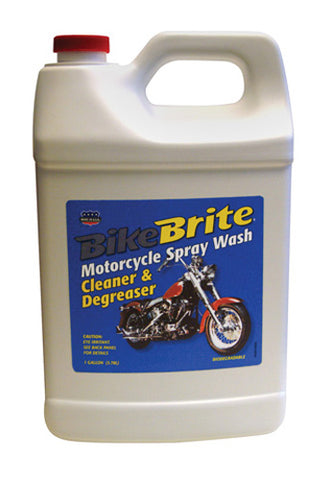BIKE BRITE BIKE BRITE MOTORCYCLE SPRAY WASH 1 GALLON (128 OZ) MC441G