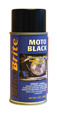 BIKE BRITE BIKE BRITE MOTO-BLACK 9 OZ MC53000